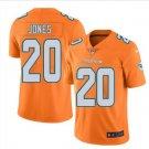 Mens Miami Dolphins #20 Reshad Jones color rush Limited Jersey orange