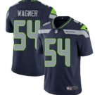 Men Seahawks 54 Bobby Wagner vapor untouchable Color Rush Limited Jersey navy
