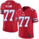 Men's Buffalo Bills #77 Cordy Glenn color rush Football jersey