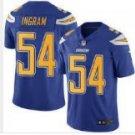 Men's Charges #54 Melvin Ingram color rush Limited jersey light blue