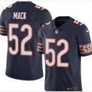 Men's Chicago bears 52 Khalil Mack color rush Limited jersey navy