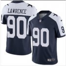 Men's Cowboys #90 DeMarcus Lawrence color rush Limited jersey blue white