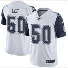 Men's Cowboys 50 Sean Lee color rush Limited jersey white