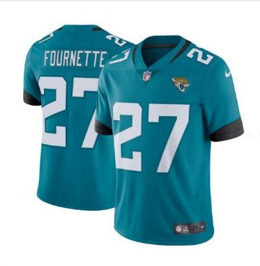 Men's Jaguars #27 Leonard Fournette color rush Limited jersey blue