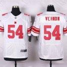 Men's NY Giants #54 Olivier Vernon elite football jersey white