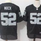 Men's Oakland Raiders #4 Khalil Mack elite Football jersey black