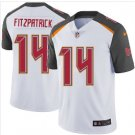 Men's Ryan Fitzpatrick Tampa Bay Buccaneers color rush Limited Jersey white