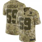 Men's Panthers 59# Luke Kuechly Salute to Service Limited Jersey Camo NEW