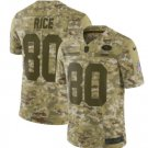 Men's 49ers 80# Jerry Rice Salute to Service Limited Jersey Camo NEW