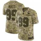 Men's Texans 99# J.J. Watt Salute to Service Limited Jersey Camo NEW