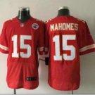 Men's KC Chiefs #15 Patrick Mahomes elite football jersey red