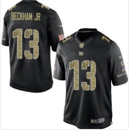 huge discount 98ca4 a2fe5 Men's Giants #13 Odell Beckham Jr salute to service jersey black camo