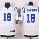 Men's Indianapolis Colts #18 Peyton Manning elite football jersey white