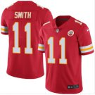 Men's KC Chiefs #11 Alex Smith color rush Limited jersey red