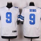 Men's Dallas Cowboys #9 Tony Romo elite football jersey white