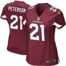 Women's Arizona Cardinals #21 Patrick Peterson Cardinal Limited Jersey