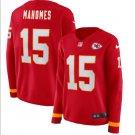 Womens #15 Patrick Mahomes Kansas City Chiefs red Jersey