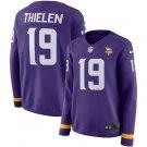 Womens Adam Thielen #19 Minnesota Vikings Purple Jersey