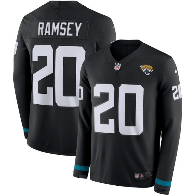 Mens Jalen Ramsey #20 Jacksonville Jaguar Black Jersey