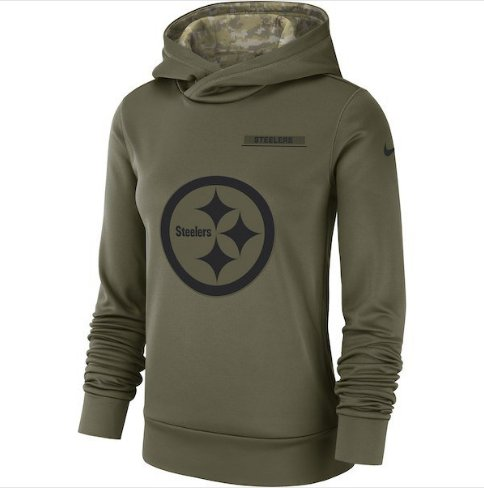 pretty nice bcdf4 925d5 New Orleans Saints Salute to Service Jersey Pullover Hoodie ...