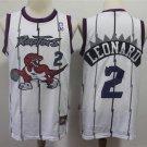 Mens Toronto Raptors 2# Kawhi Leonard Basketball Jersey White 2019