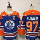 Mens Edmonton Oilers 97# Connor McDavid Blue Jersey