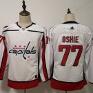 Youth Washington Capitals 77# TJ Oshie White Jersey