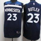 Youth Minnesota Timberwolves Butler 23# Blue Basketball Jersey