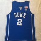 Men's NCAA Duke University Team #2 Cam Reddish Jersey Blue