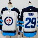 Mens Winnipeg Jets 29# Patrik Laine Ice Hockey Jersey White