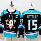 Mens Anaheim Ducks 15# Ryan Getzlaf Ice Hockey Jersey Black