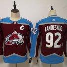 Youth Colorado Avalanche 92# Gabriel Landeskog Ice Hockey Jersey Red