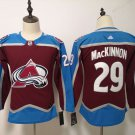 Youth Colorado Avalanche 29# Nathan MacKinnon Ice Hockey Jersey Red