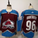 Mens Colorado Avalanche 96# Mikko Rantanen Ice Hockey Jersey Red