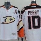 Men's Corey Perry 10# Anaheim Ducks Ice Hockey Jersey White