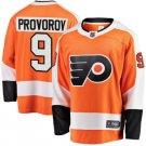 Mens Philadelphia Flyers 9# Ivan Provorov Ice Hockey Stitched Jersey Orange
