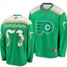 Men's Philadelphia Flyers 53# Shayne Gostisbehere Ice Hockey Stitched Jersey Green