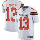 Men's Cleveland Browns 13# Odell Beckham Jr Limited Jersey White New
