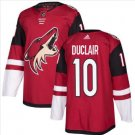 Mens Anthony Duclair 10# Arizona Coyotes Ice Hockey Stitched Jersey Red