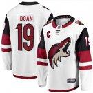 Mens Shane Doan 19# Arizona Coyotes Ice Hockey Stitched Jersey White