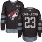 Mens Oliver Ekman-Larsson 23# Arizona Coyotes Ice Hockey Stitched Jersey Black