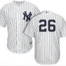 Men's New York Yankees #26 DJ LeMahieu white cool base home Jersey blank