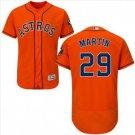 Men's Houston Astros #29 Corbin Martin Orange Alternate Flex Base Jersey