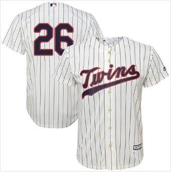 Youth #26 Minnesota Twins Max Kepler Cream Cool Base Baseball Jersey