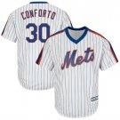 Men's New York Mets #30 Michael Conforto White Alternate Cool Base Jersey