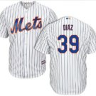 Youth New York Mets #39 Edwin Diaz white home cool Base Jersey