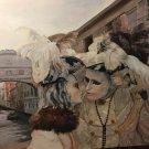 Venice kiss. Original Oil Painting