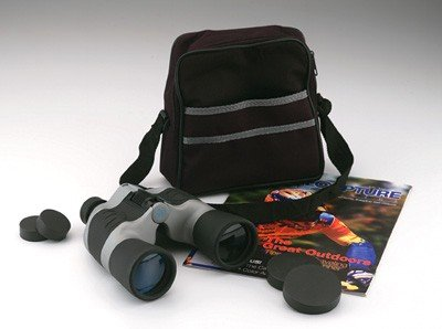 SPB10505/00: Magnacraft 10x50 Black and Gray Binocular with Matching Carrying Case