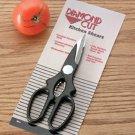 CTDCSC4C: Diamond Cut Multi-Purpose Kitchen Shears - Nut Cracker, Bottle & Jar Opener too