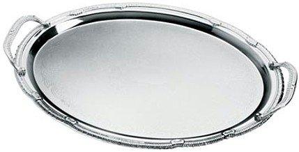 KTT4/00: Sterlingcraft Oval Serving Platter with Handles